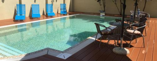 Mosoly Apartman Szeged, kerti medence